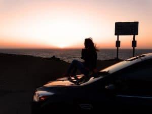 viaggio in California da solo