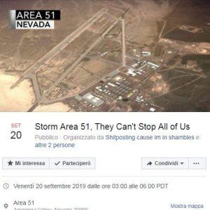 Area 51 come entrare