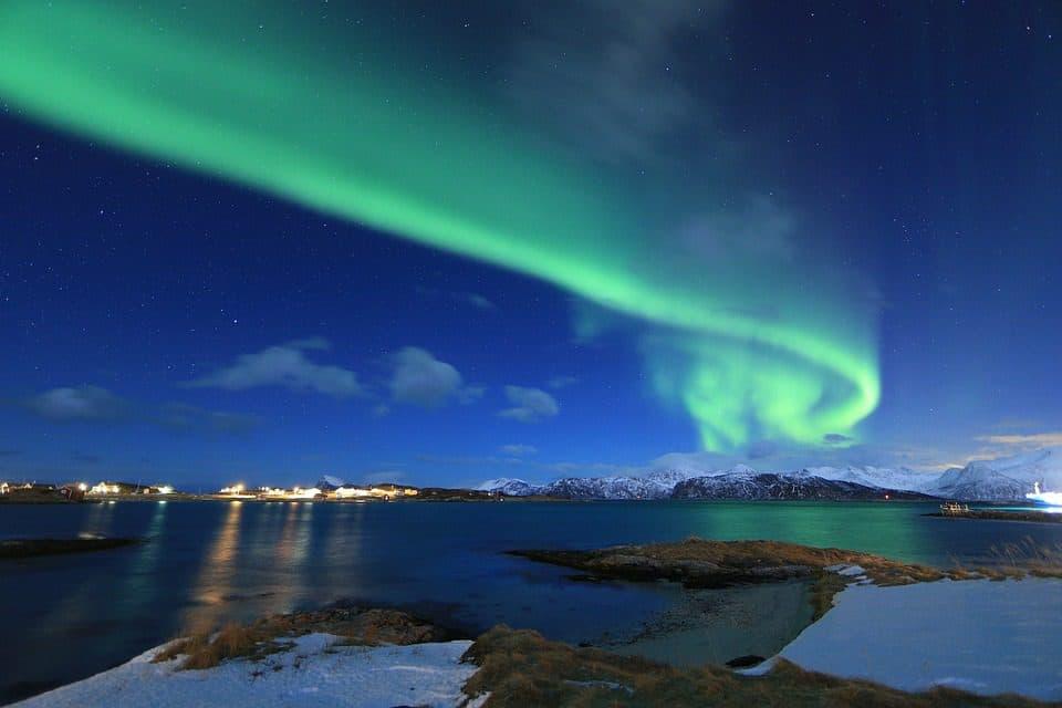 dove vedere l'aurora boreale foto copertina
