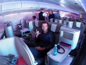 come viaggiare in business class senza pagare